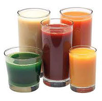 Glasses of Juice